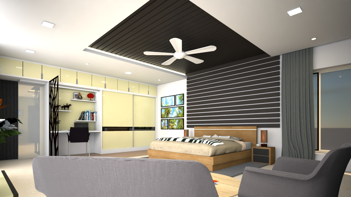 Masterbedroom celling