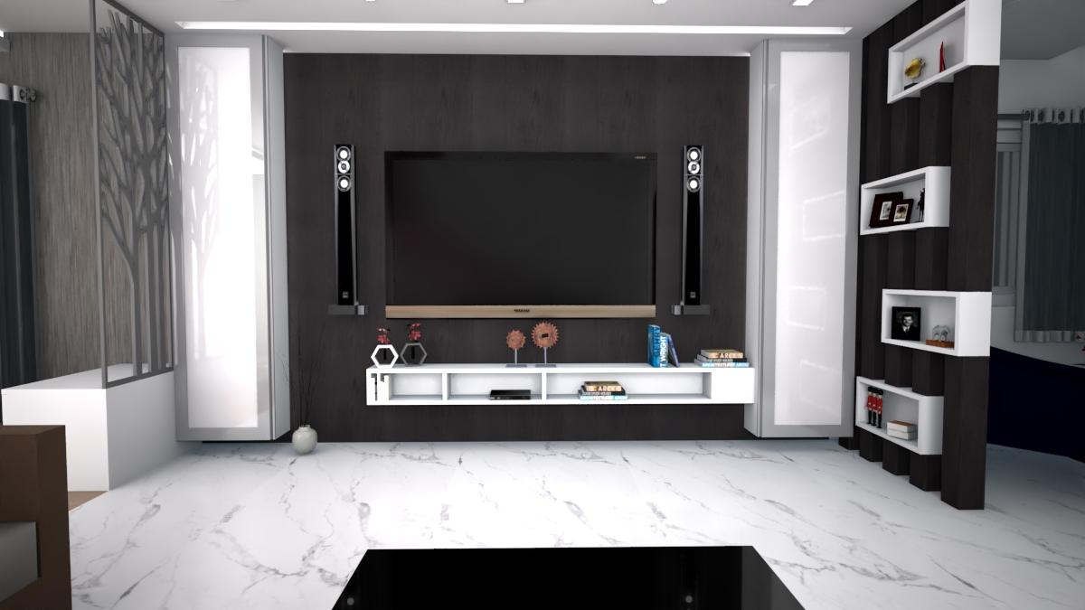 Living area – Tv unit