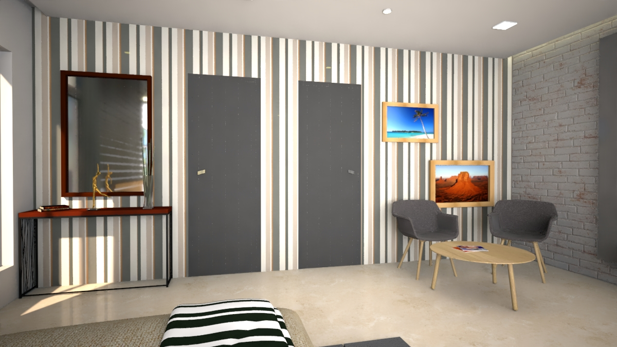 Master bedroom- Side walls